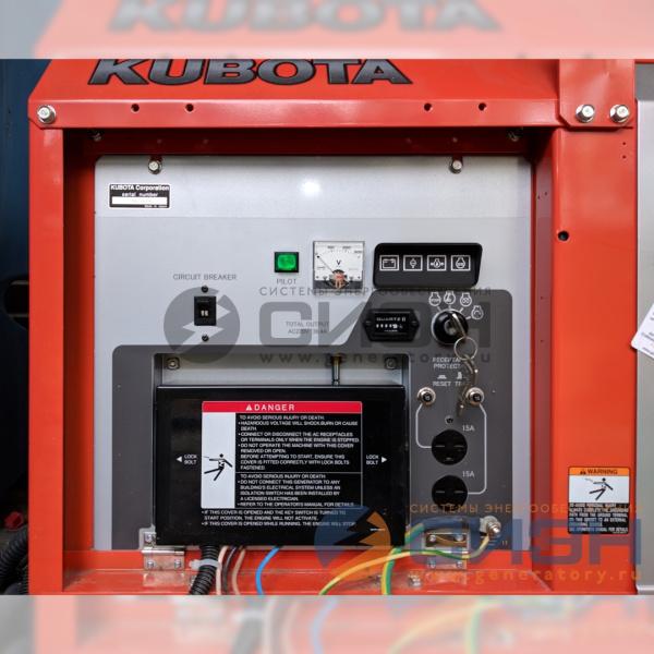 Панель управления дизельной электростанции Kubota GL9000