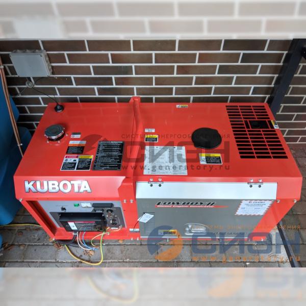 ДГУ Kubota GL9000 - общий вид