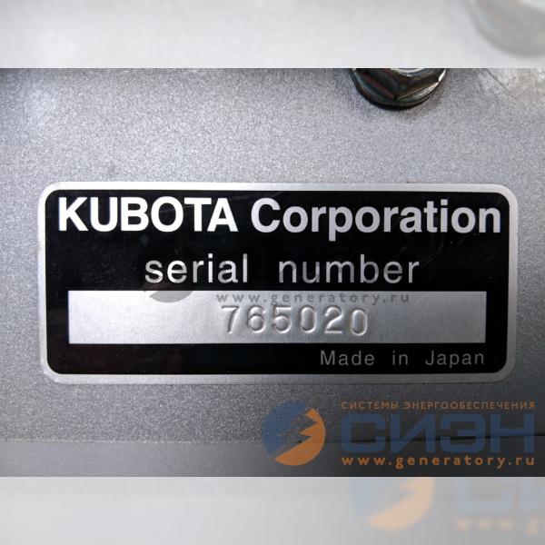 ДГУ Kubota GL9000 - сделано в Японии