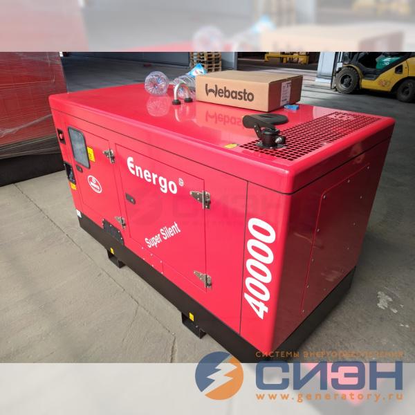Монтаж автономного подогревателя Webasto на дизель-генератор Energo ED 40/230 Y SS