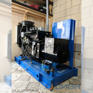 Монтаж дизельного генератора ТСС АД20-Т400 (TTd 28 TS)