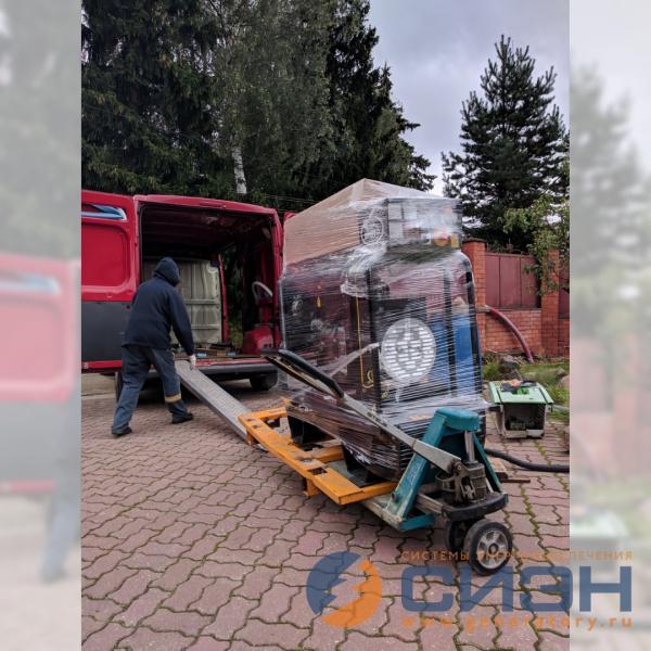 Доставка и разгрузка ДГУ Energo ED 13/400 Y SS