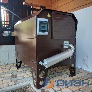 Монтаж бензинового генератора Zongshen KB 9000 E в уличном кожухе