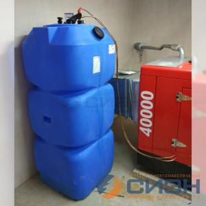 Монтаж дизельной электростанции Energo (Genelec) ED 40/400 Y SS в подвале