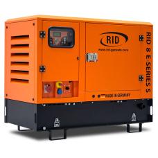 Дизельный генератор RID 8 E-SERIES-S (в кожухе)