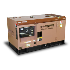 Дизельный генератор Toyo TKV-11SBS (в кожухе)