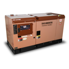 Дизельный генератор Toyo TKV-27TBS (в кожухе)