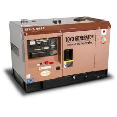 Дизельный генератор Toyo TKV-7.5SBS (в кожухе)