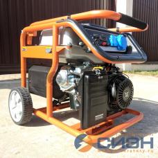 Бензиновый генератор Zongshen KB 6000 E